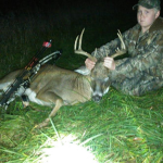 First Buck with Bow, Casey Rowe