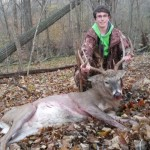 First deer with bow and arrow
